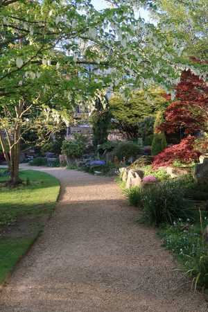 Garden path St John's College Oxford