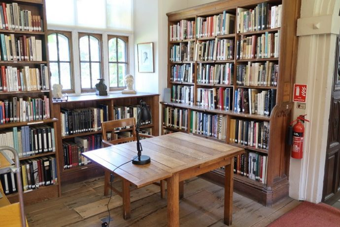 Library table St John's College Oxford